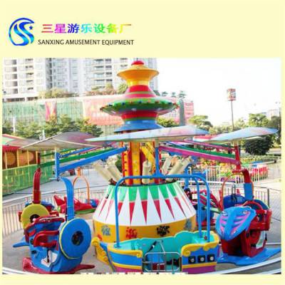 登月飞车室外公园游乐场专用亲子类游乐设施