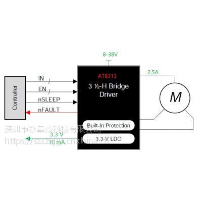 DRV8313/AT8313(三路1/2H桥驱动器IC)