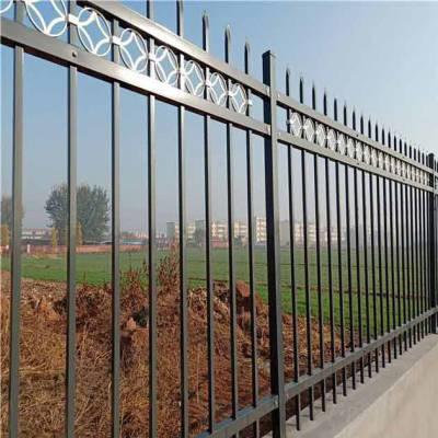 台山锌钢围栏安装 小区隔离防护栏杆铁艺栅栏网