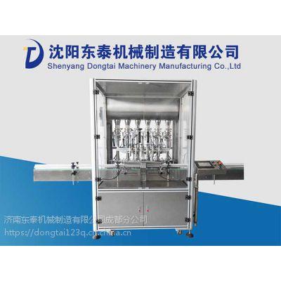 东泰机械DTZD-2013型豆瓣酱灌装设备前来报到!