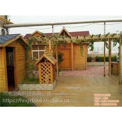 移动木屋|固森防腐木|焦作移动木屋专业生产