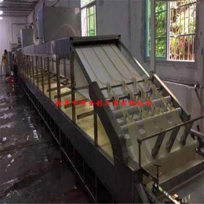 西安全自动腐竹机厂家,大型自动腐竹成型设备