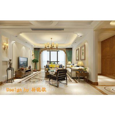 【烟台城市人家】一品洋房144+60平米美式风格装修案例