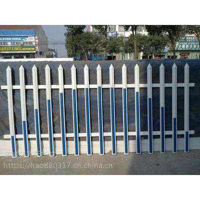 湖北荆州PVC护栏厂家,变压器网改安全栏,PVC塑钢道路护栏 祥云九州