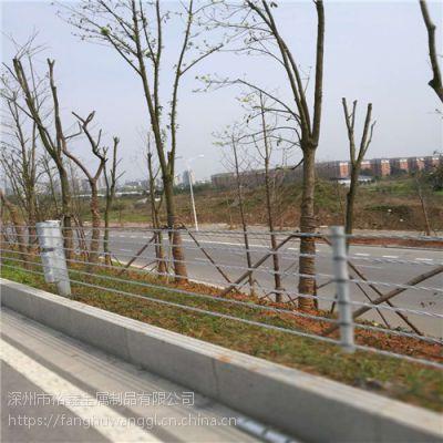 【专业生产】浸塑柔性防撞护栏@浸塑柔性防撞护栏施工