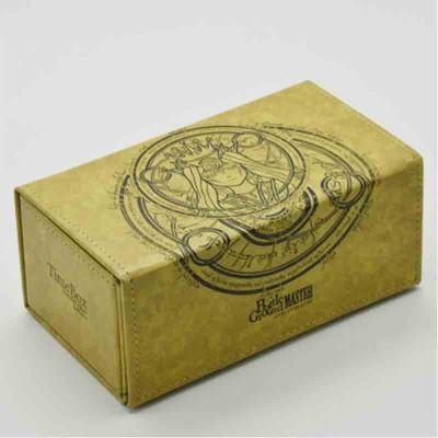 游戏王万智牌 TW周边 女神系列战场大师对开牌盒 皮质卡牌收纳盒卡盒