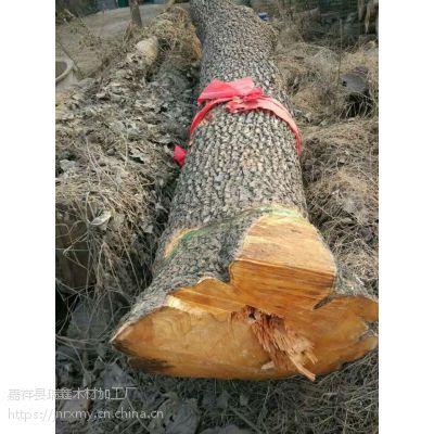 长期供应血柏木核桃木梨木楸木原木