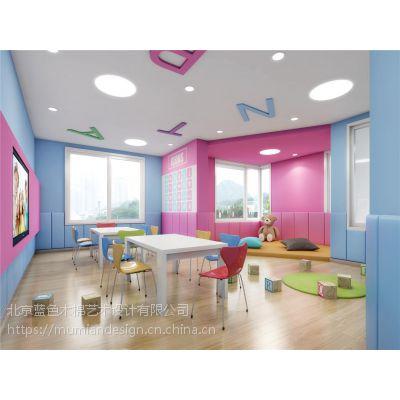 暖色系的幼儿园设计风格更温馨舒适,幼儿园装修漳州早教中心室内设计