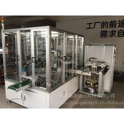 ABB自带料仓的tray盘送料机/料盘自动上料机/宁波攀高自动化定做