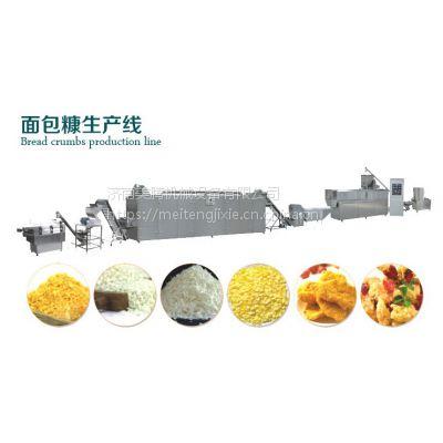 膨化面包糠生产设备 玉米片膨化机