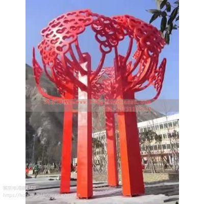 不锈钢304景观树雕塑 不锈钢大树雕塑厂家