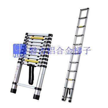 伸缩梯 磐古实业生产、销售各种铝合金梯子