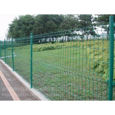 球场围网厂家/三角折弯护栏网/高速公路护栏网/园林防护网