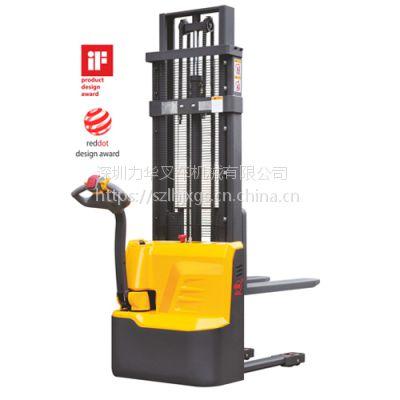 深圳西林CDD10R-E/2.5M全电动堆垛车/光明新区全电动堆高车/电力叉车