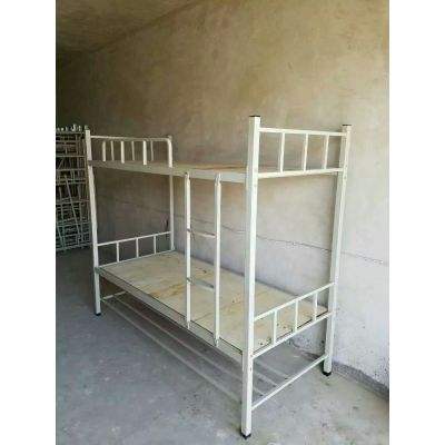 上下铺铁床 双层学生床 简约现代 学校寝室铁床 重庆生产厂家