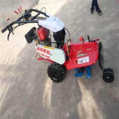 齿轮传动田园管理机 浩发葱姜种植开沟培土机