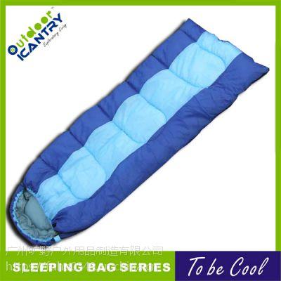 旷野户外 便携旅行四季 露营 室内 午休 户外睡袋 中空棉