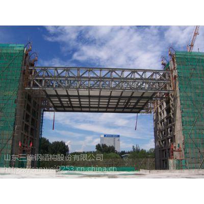 钢结构连廊加工制作厂家——三维钢构