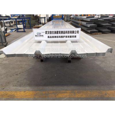 【新板型】武汉佰仕润彩钢瓦HV267-801型成品多少钱一吨?|【武汉彩钢板加工厂】
