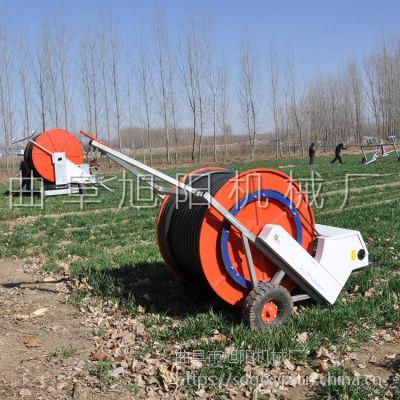 厂家直销自动卷管式喷灌机水涡轮驱动灌溉机农田专用浇地机
