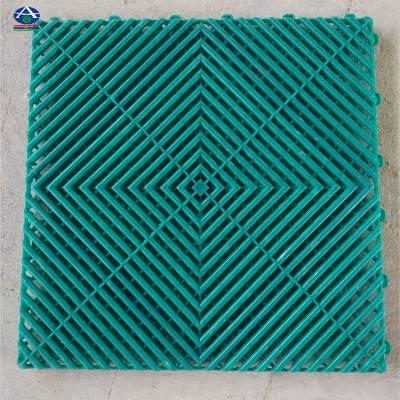拼接格栅装饰地面颜色搭配效果图防滑地格栅【河北华强】