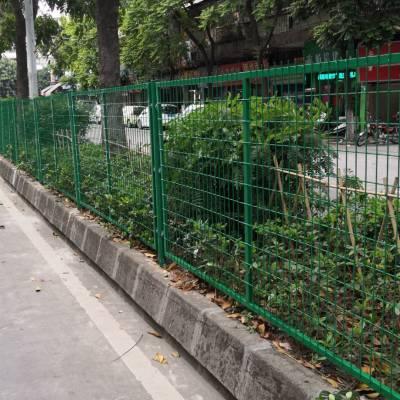 交通道路防护栏现货 珠海绿化带隔离栏 佛山框架护栏网厂家