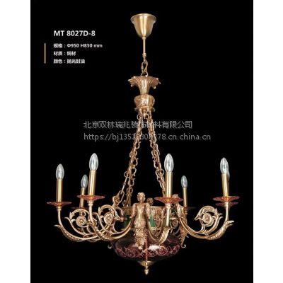 定制别墅欧式水晶吊灯精美水晶蜡烛灯