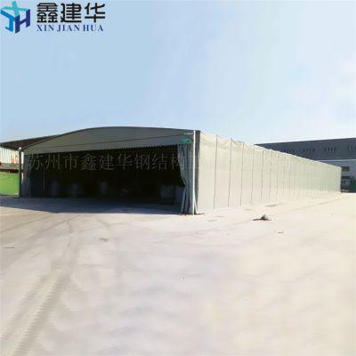 拱墅定制推拉雨棚工厂大型仓储雨棚可移动伸缩围(布)颜色多选厂家直销价