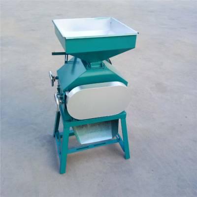家用电黄豆压扁机 吉林玉米压片机 圣鲁多功能挤扁机