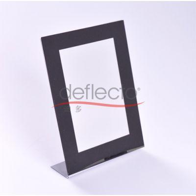 黑色亚克力相架,L型相架,相框厂家,亚克力相框厂,有机玻璃相框厂