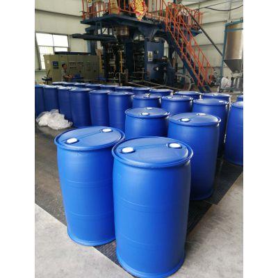200L塑料桶HDPE材质顶部有两个55mm的口径易放料