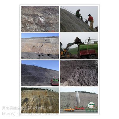 矿山修复 边坡绿化工程 喷播植草施工工艺 河南景绣绘远放心