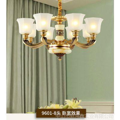 2019新款客厅吊灯简欧餐厅吊灯奢华大气水晶吊灯简约现代家用灯具