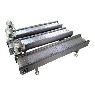 性能稳定链板输送机选用标准批量加工 不锈钢链板输送机河源