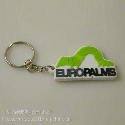 创意卡通钥匙扣PVC软胶立体钥匙扣挂件动漫人物钥匙圈礼品批发