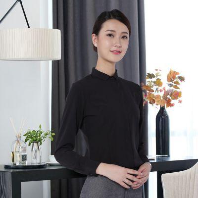时尚抗皱免烫销售工装职业女衬衫批量定制