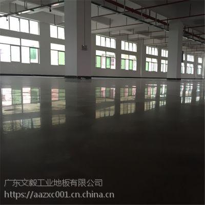 惠州惠阳、淡水厂房金刚砂施工 车间耐磨地面打磨抛光 无尘钢化地坪