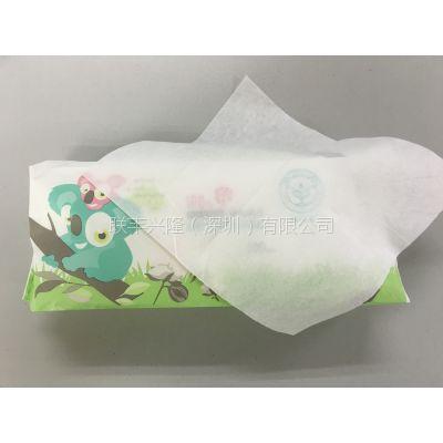 80片婴儿纯棉湿纸巾 100片老人珍珠纹湿巾代加工 交叉无纺布湿巾
