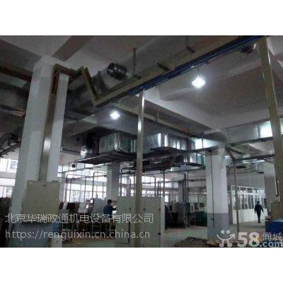 海淀厂房车库通风系统设计,白铁通风管道制作,排烟罩消音箱安装