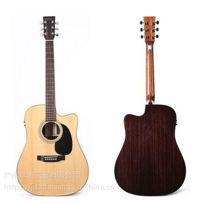 广州全单吉他批发|单板吉他批发