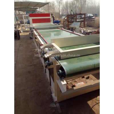 巧妙手法提高砂浆岩棉复合板设备生产线的工作效率