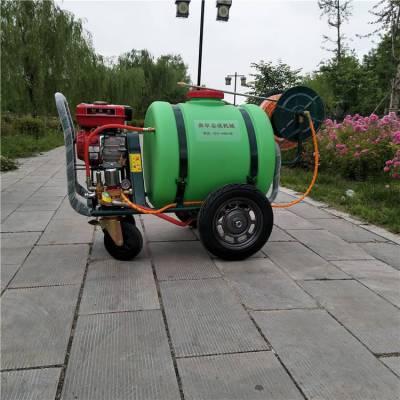 新款供应推车式杀虫喷雾机单人操作打药机旭阳草坪驱虫喷洒机