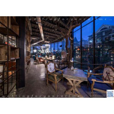 成都主题咖啡厅设计 咖啡馆装修设计 专业咖啡厅装饰装修