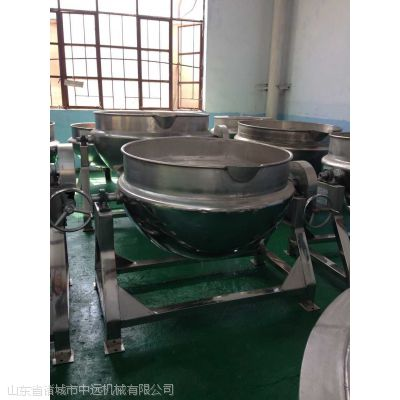 厂家直销全不锈钢蒸汽、电加热、燃气夹层锅、预煮机