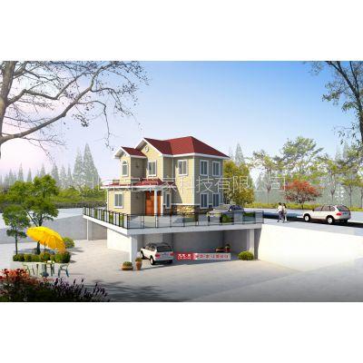 定荣家美式轻钢别墅 南都澜湾 农村自建房 抗震节能环保