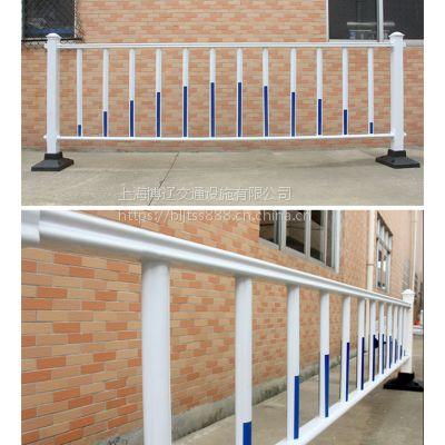 博辽道路隔离栏 镀锌钢护栏 马路围栏 交通护栏60公分