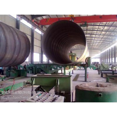山东高唐Q235B 219*6mm螺旋钢管大量现货