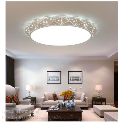 圆形LED家用吸顶灯大气 现代简约客厅卧室酒店客服灯具