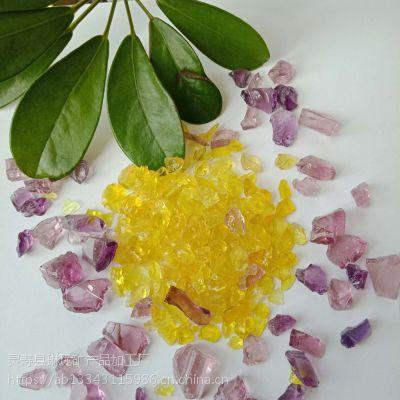 然染色 无毒玻璃砂 装饰各种颜色规格 水景观