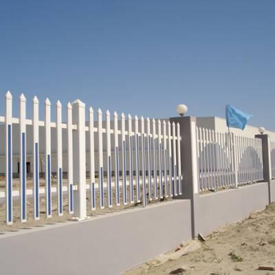 景区塑钢围栏 中山道路防撞栏 草坪隔离栅网